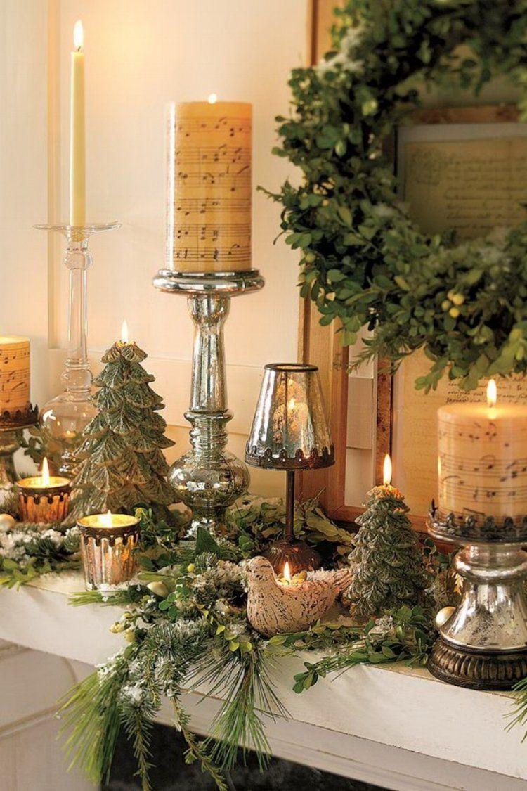 pottery barn christmas mantel on trendy fireplace and mantel decorated with pottery barn christmas wreath and candle lights christmas interiors mantel decorations christmas fireplace pinterest