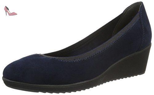 22301, Escarpins Femme, Bleu (Navy Comb 890), 38 EUMarco Tozzi