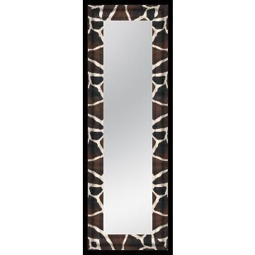 Zebra Print Bathroom Accessories Animal Print Decorative Mirror Set Of 3  Shannon Bellanca
