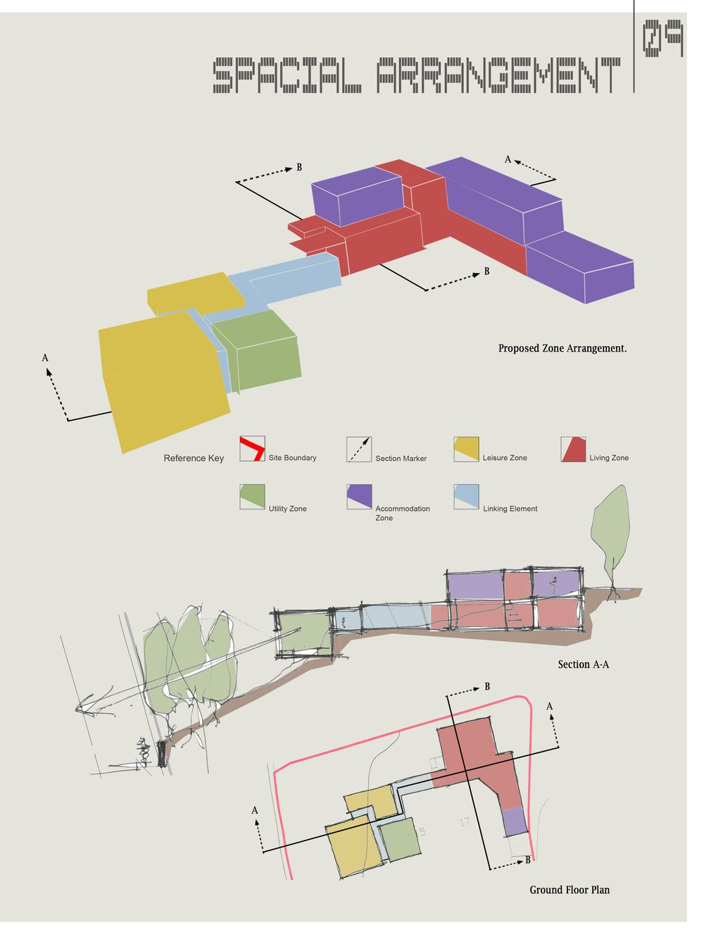 11 zoning and 1000 1327 architectural for Architecture zoning diagram