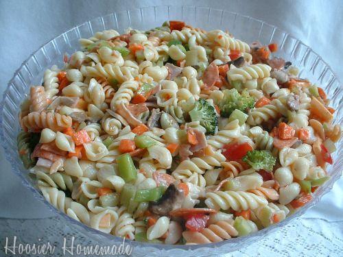 Deli-Style Pasta Salad   Recipe   Pepperoni, Walmart and Mom