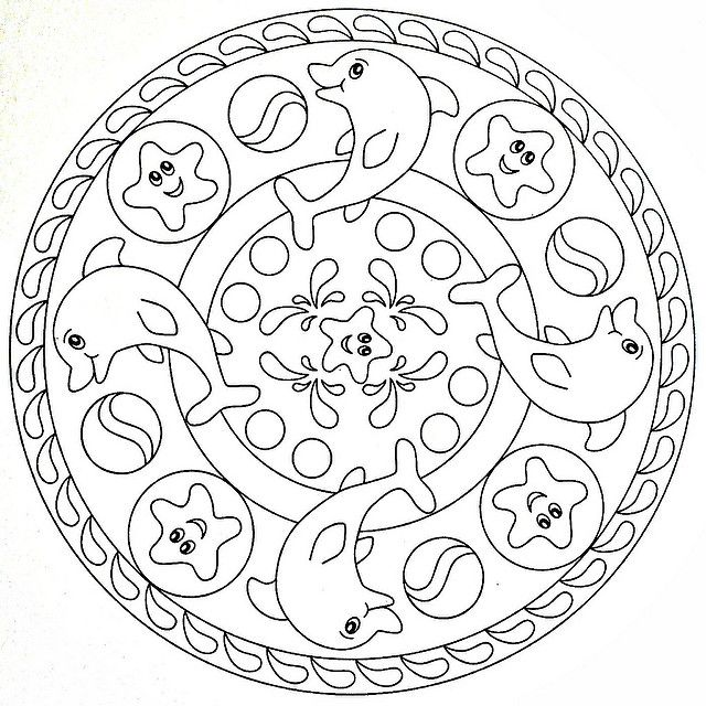 Coloring Page Mandala Malvorlagen Einfaches Mandala Malvorlagen Fur Kinder Zum Ausdrucken