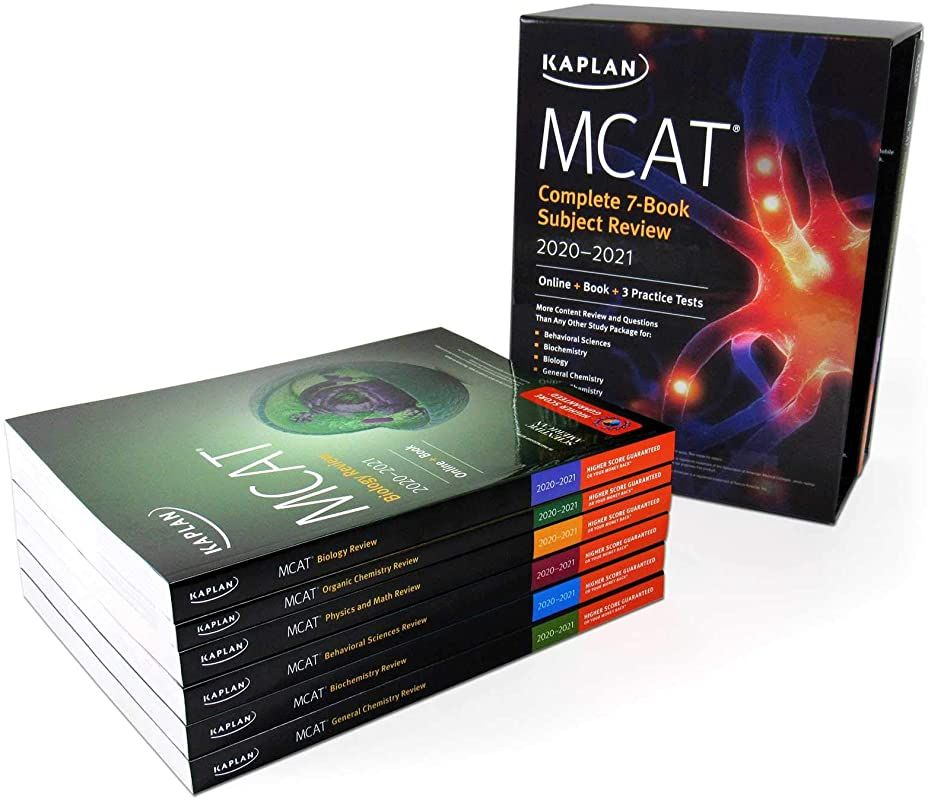 Get book mcat complete 7book subject review 20202021