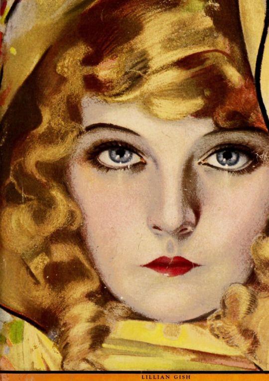 Lillian Gish Photoplay Magazine Cover Portrait 1921