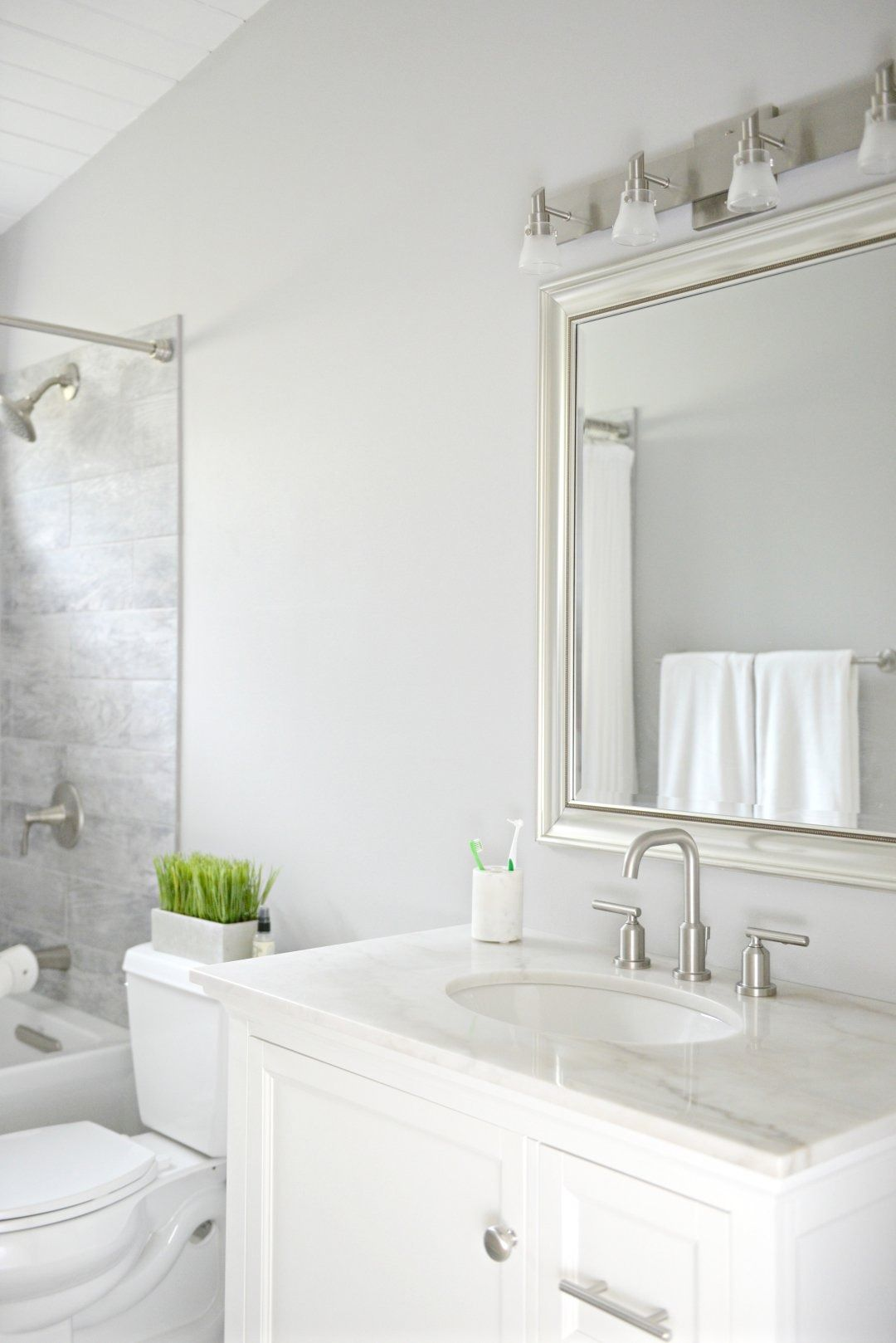 Kids Guest Bathroom Update On A Budget Hello Splendid Trendy