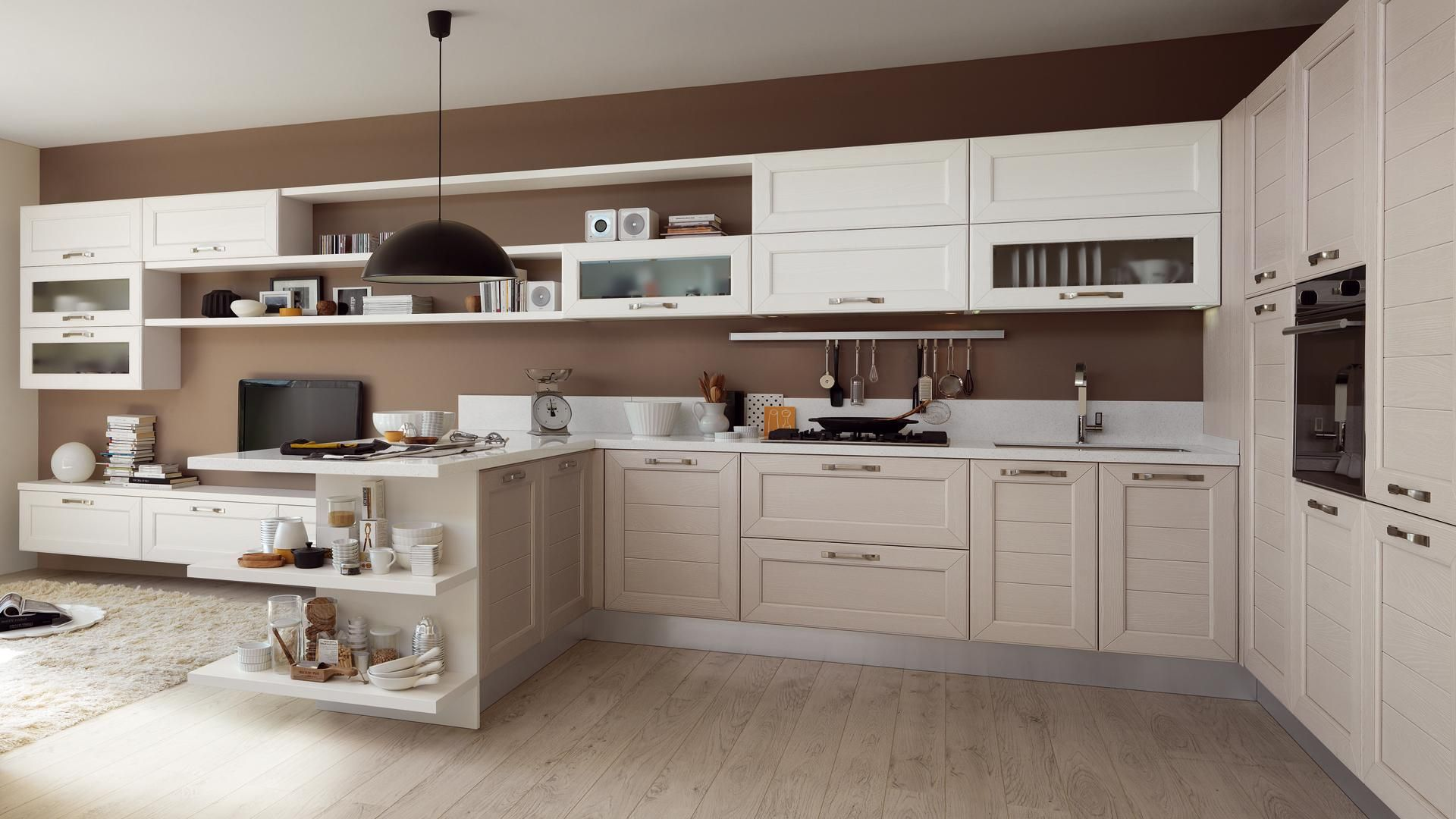 Claudia - Cucine Classiche - Cucine Lube | Spaces Where Eating Is A ...