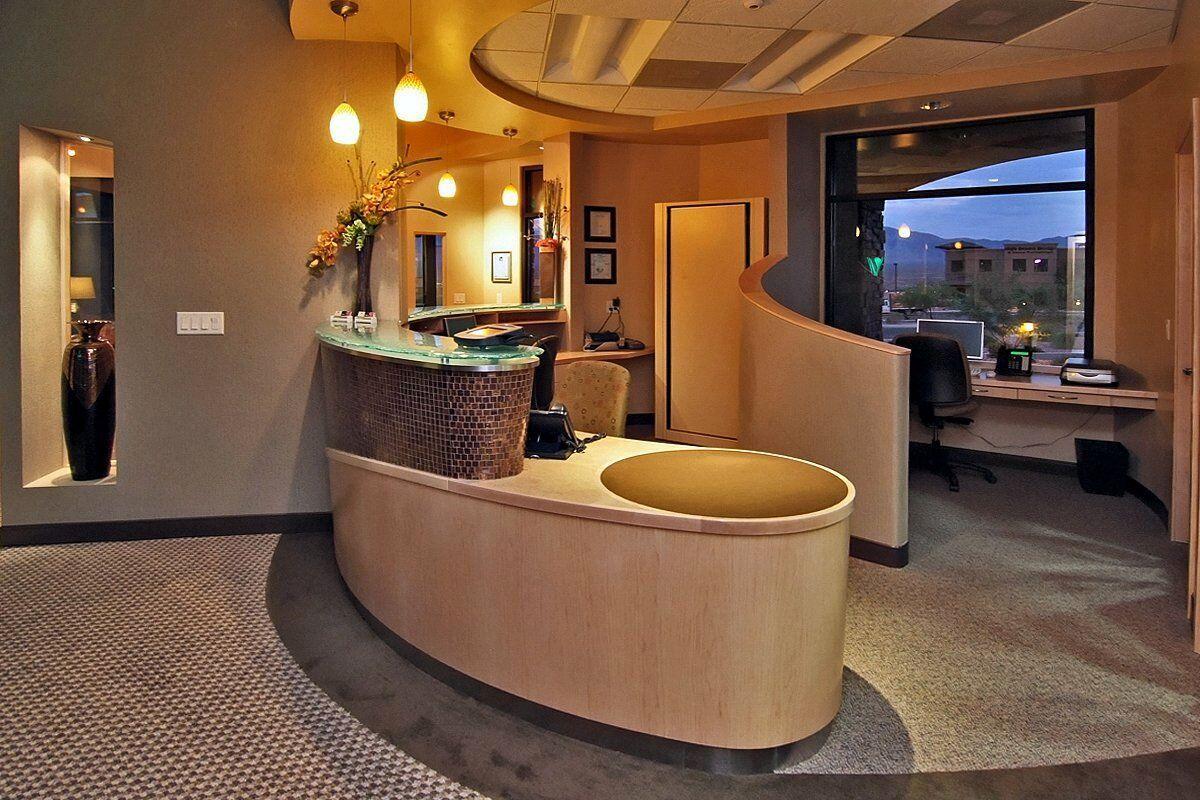 Front desk at Virgin Valley Dental Mesquite NV Dental