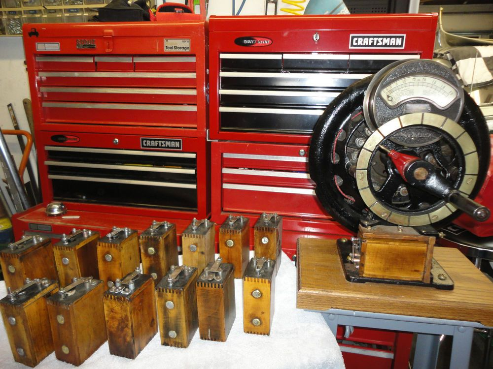 Wish List Ford Model T Coil Reconditioned And Adjusted On Orig