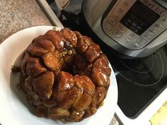 Instant Pot Monkey Bread
