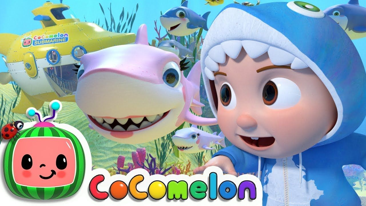 Baby Shark Submarine Cocomelon Nursery Rhymes Kids
