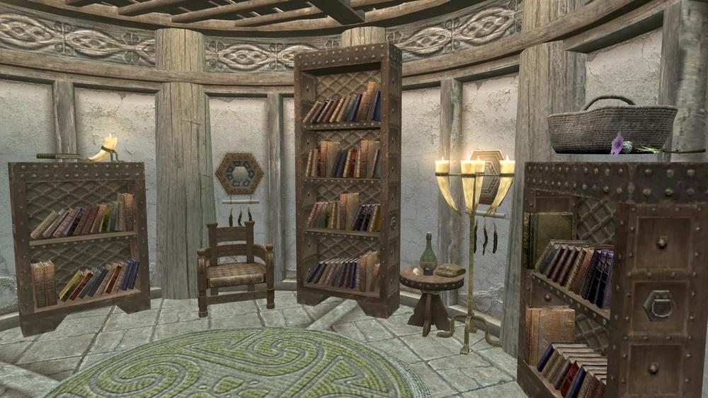 Library Elder Scrolls Fandom Elder Scrolls Library Greenhouse Kitchen
