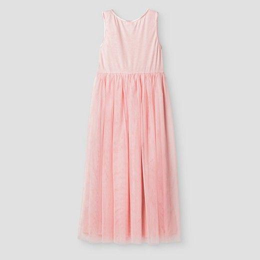 Girls' Ballerina Maxi Dress Cat & Jack™ - Pink : Target