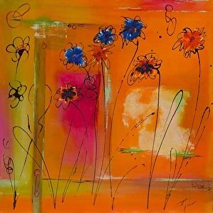 Springtime by Amy Tuso in the FASO Daily Art Show