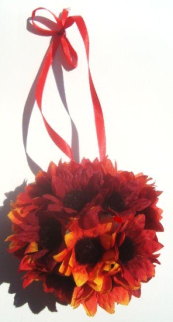 Think Crafts - Fall Flower Ball