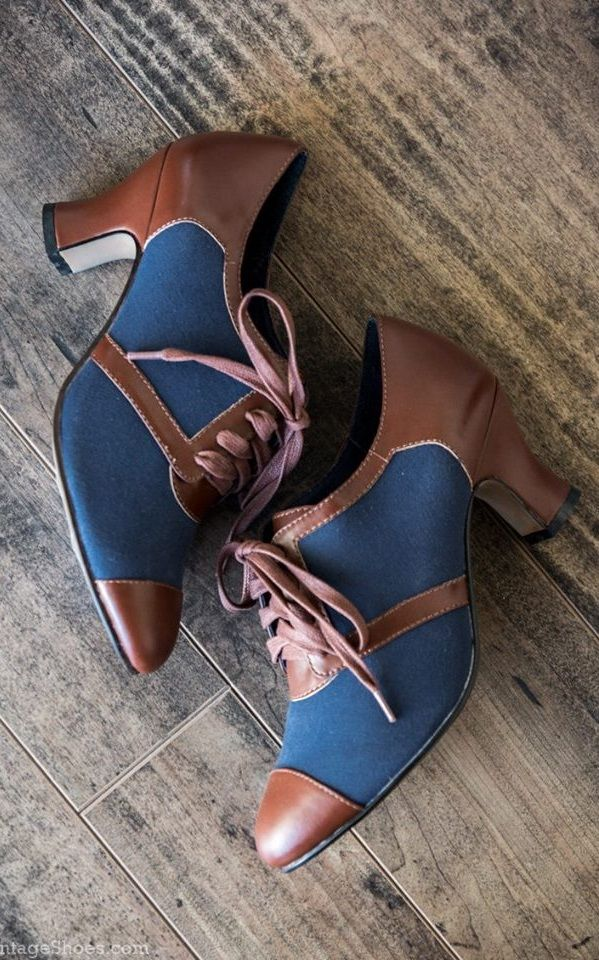 Clothes · Womens Oxford 1930s Shoes Evelyn ...