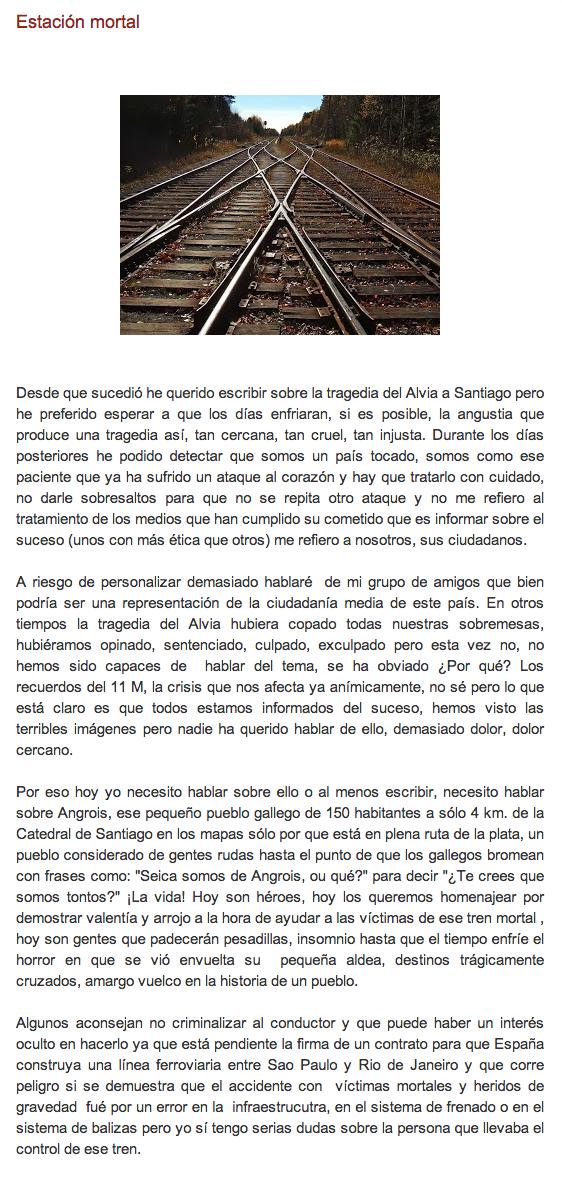 Puedes leer el post completo aquí: http://elblogdegemahernandez.blogspot.com.es/2013/07/estacion-mortal.html