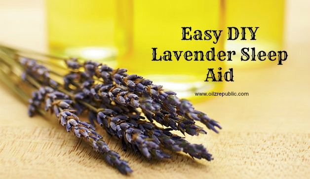 Spring forward well rested with an easy, #DIY, #natural sleep aid!  #greenbeauty #essentialoils