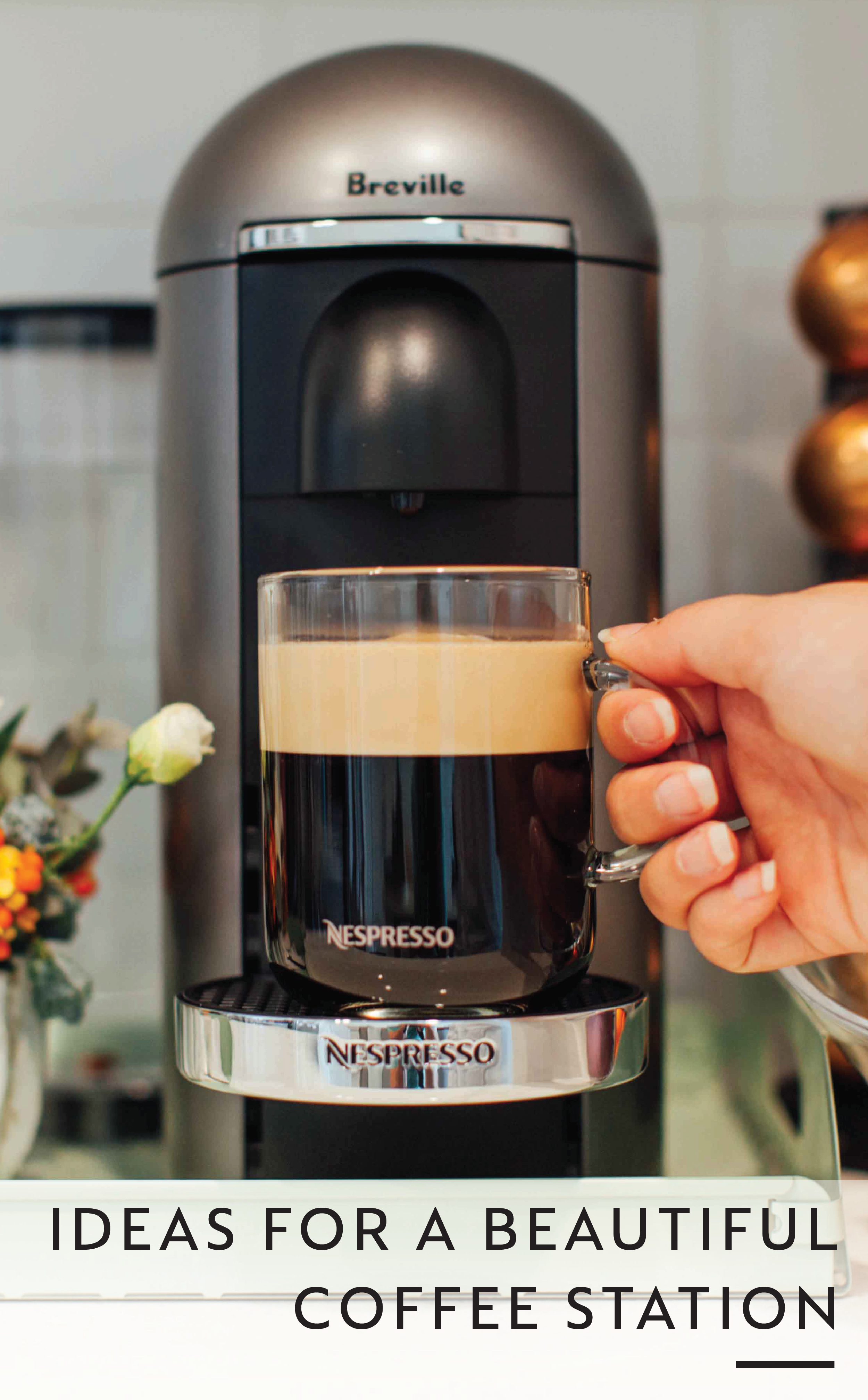 Creating A Home In Atlanta Beautiful Coffee Coffee Station Nespresso