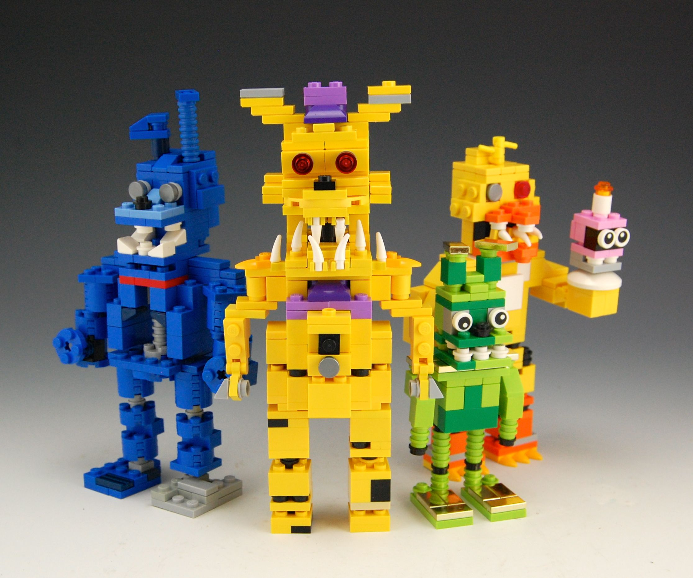 More five nights at freddy s construction sets coming soon - Lego Five Nights At Freddy S Creation By Brickbum