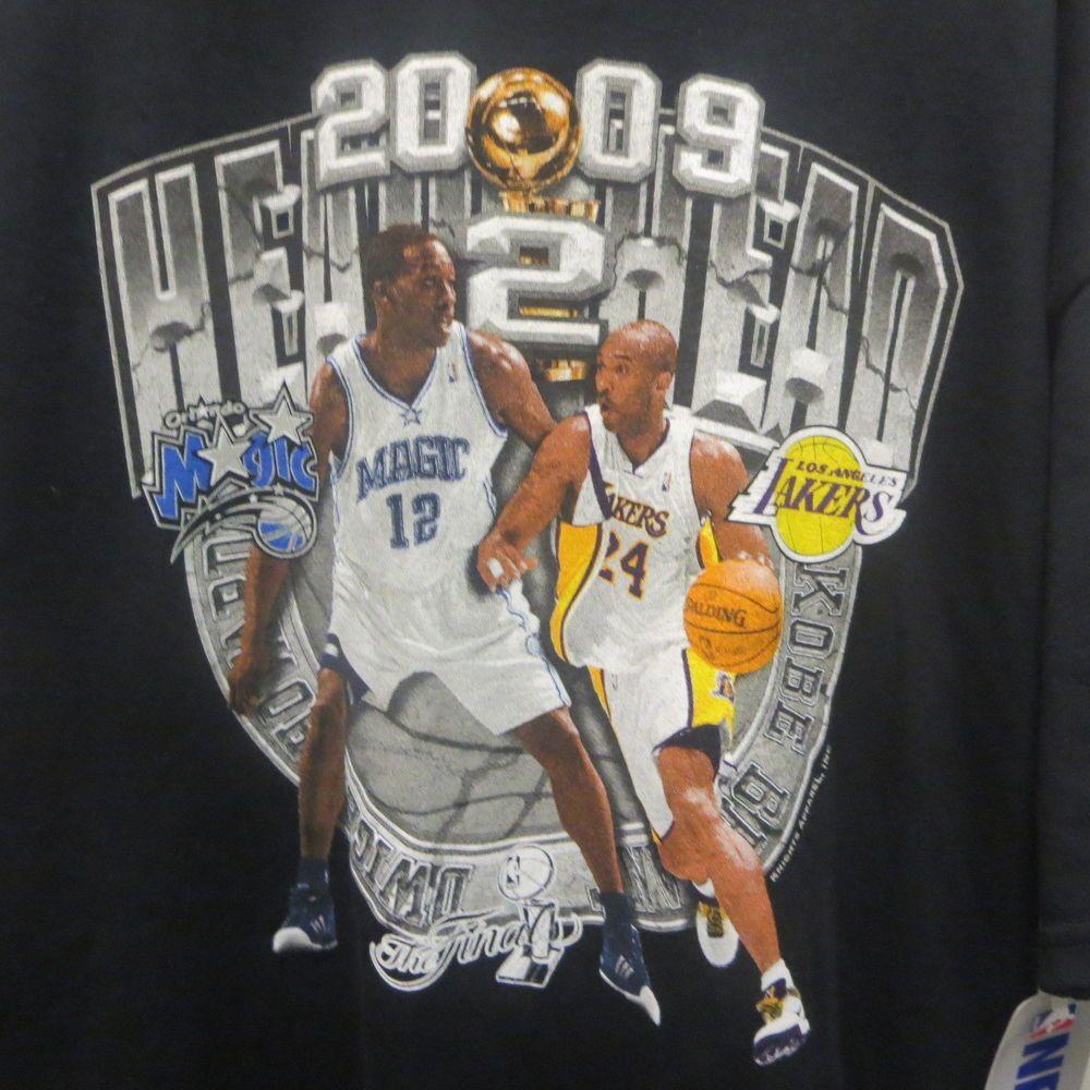 2009 NBA Finals T-Shirt Los Angeles Lakers Orlando Magic