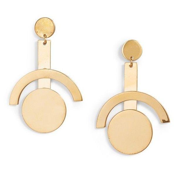 Lele Sadoughi Geometric Cage Drop Earrings hmRhCi
