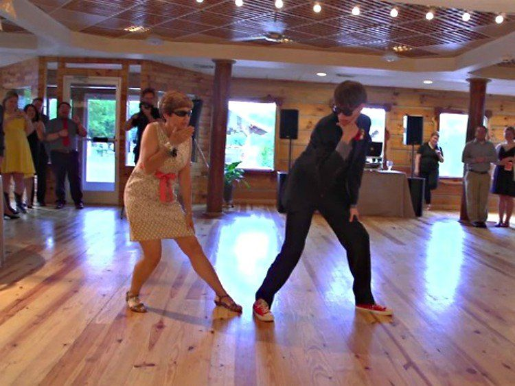 The Groom Walks Onto Dance Floor With His Mom Expect Unexpected Mother Son DanceBest
