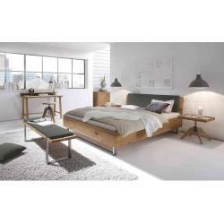 Photo of Hasena Oak-Wild solid wood bed 180x200cm natural wild oak Hasena