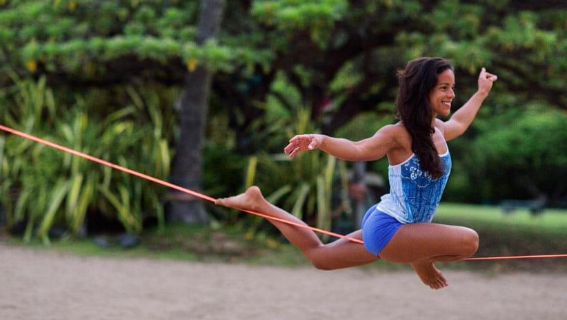 SLACKLINE Focus sur les sports d'équilibre avec Outdooors