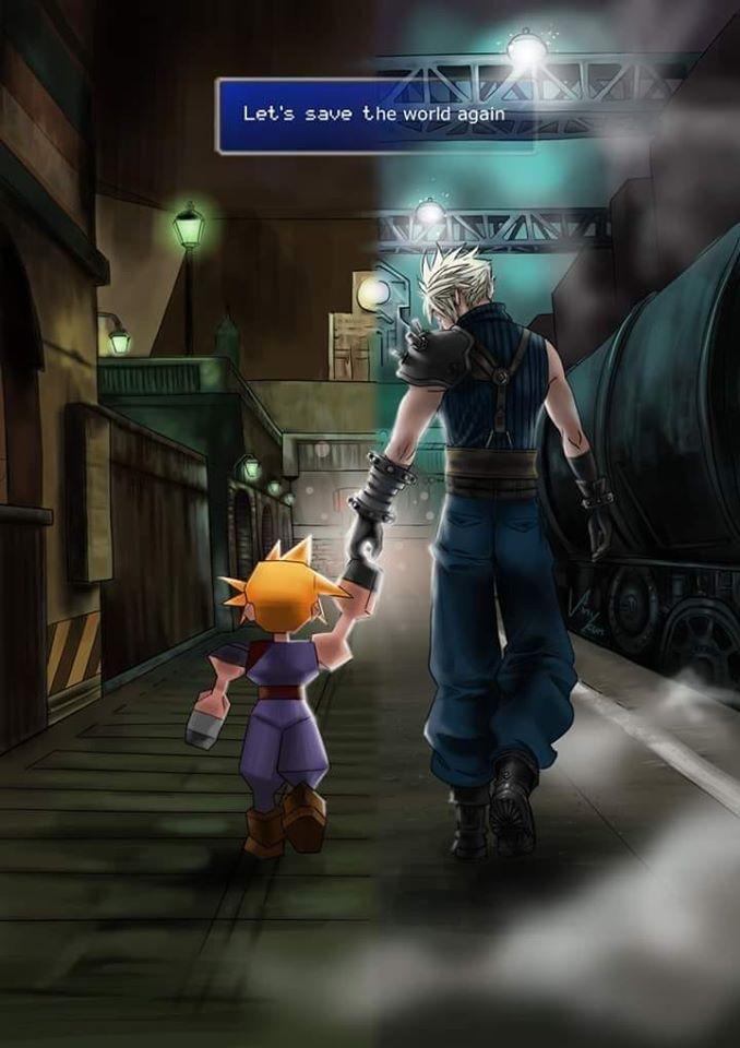 Just 5 More Hours Final Fantasy Final Fantasy Vii Final