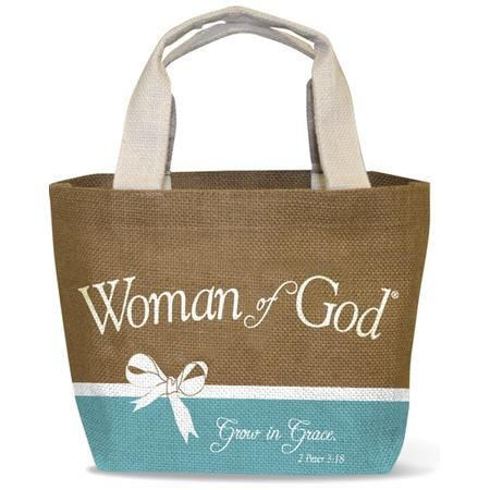 Woman Of God Tote Bag Christian Gifts For Women