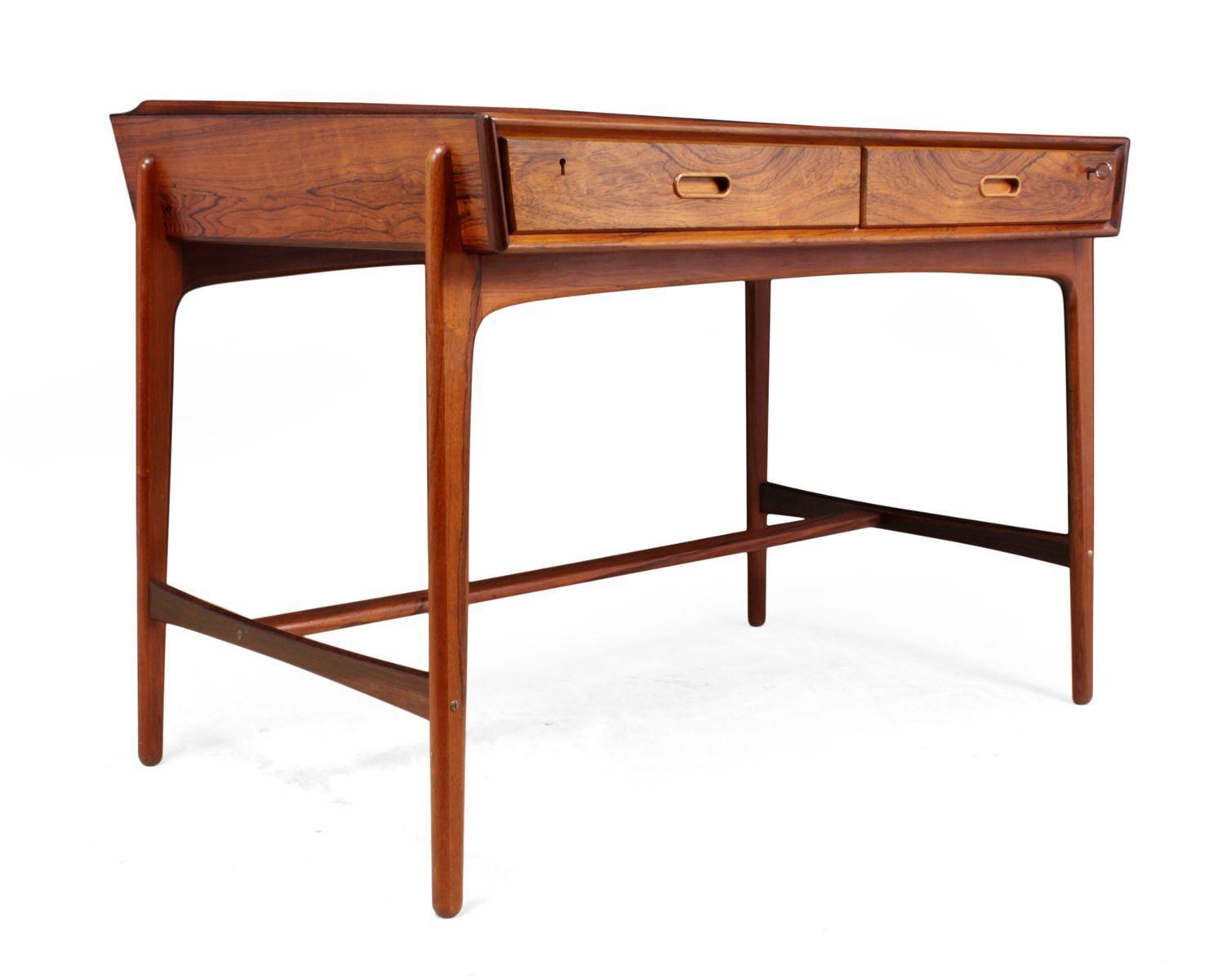 Mid Century Danish Desk By Svend Age Madsen For Sale At Pamono Danish Desk Mid Century Danish Desk Mid Century Desk