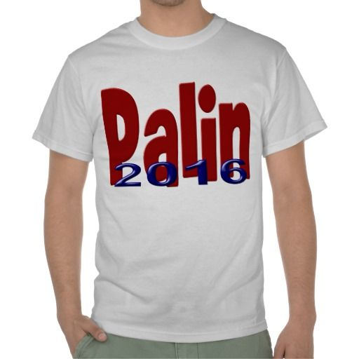 Palin 2016 Shirt