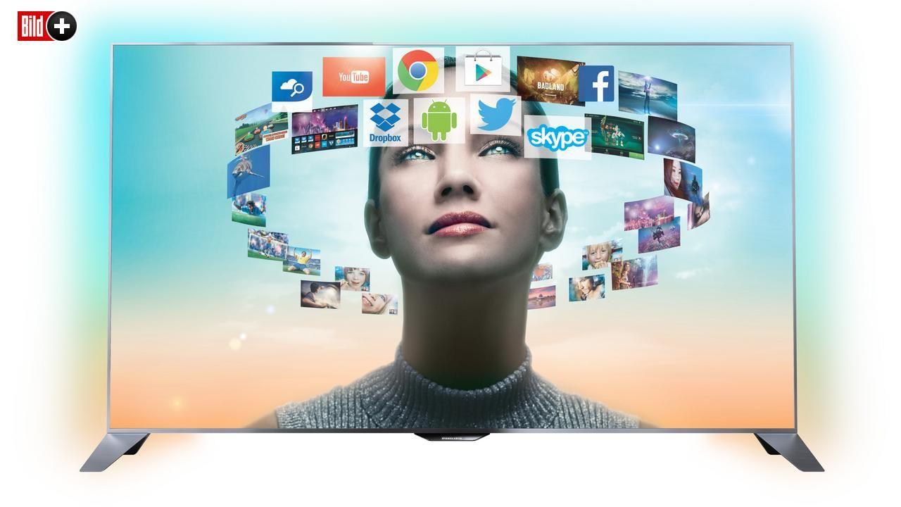 BILD HAT IHN AUSPROBIERT Philips bringt Android auf den Fernseher