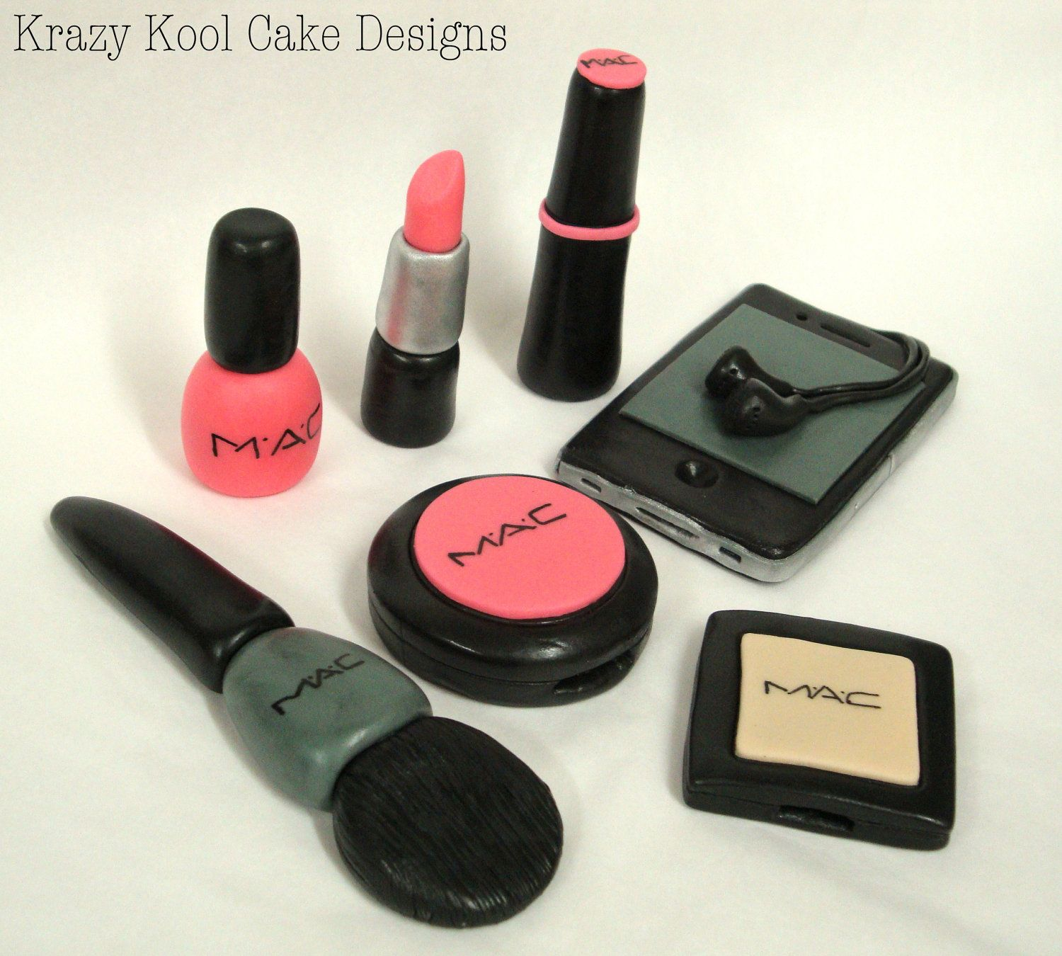 Makeup Cosmetics Cake Toppers