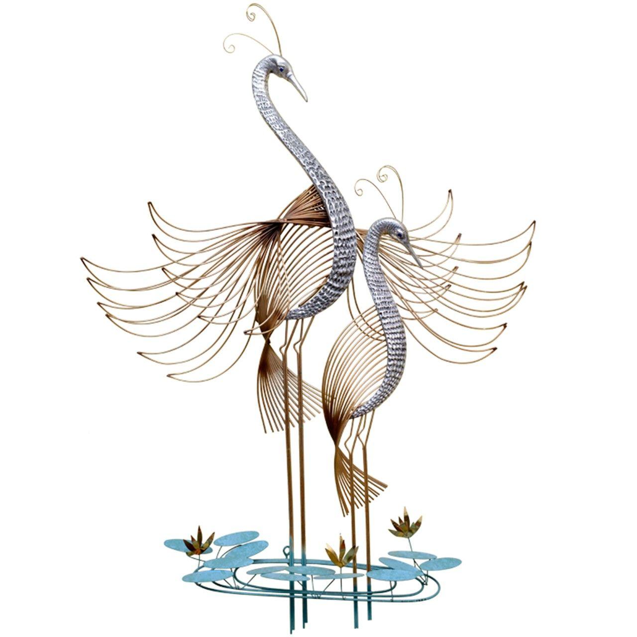 C Jer 233 Birds Of Paradise Wall Sculpture Wall Sculptures