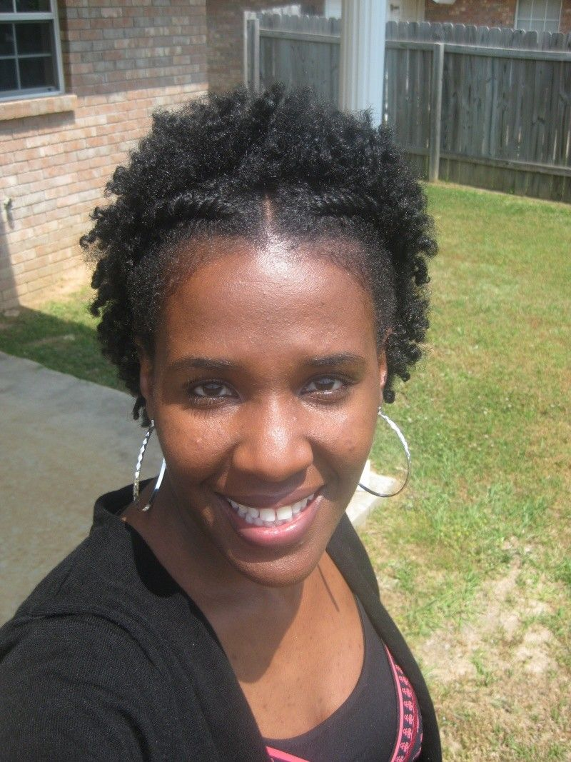 flat twist curly fro- natural hair style | curly nikki | natural