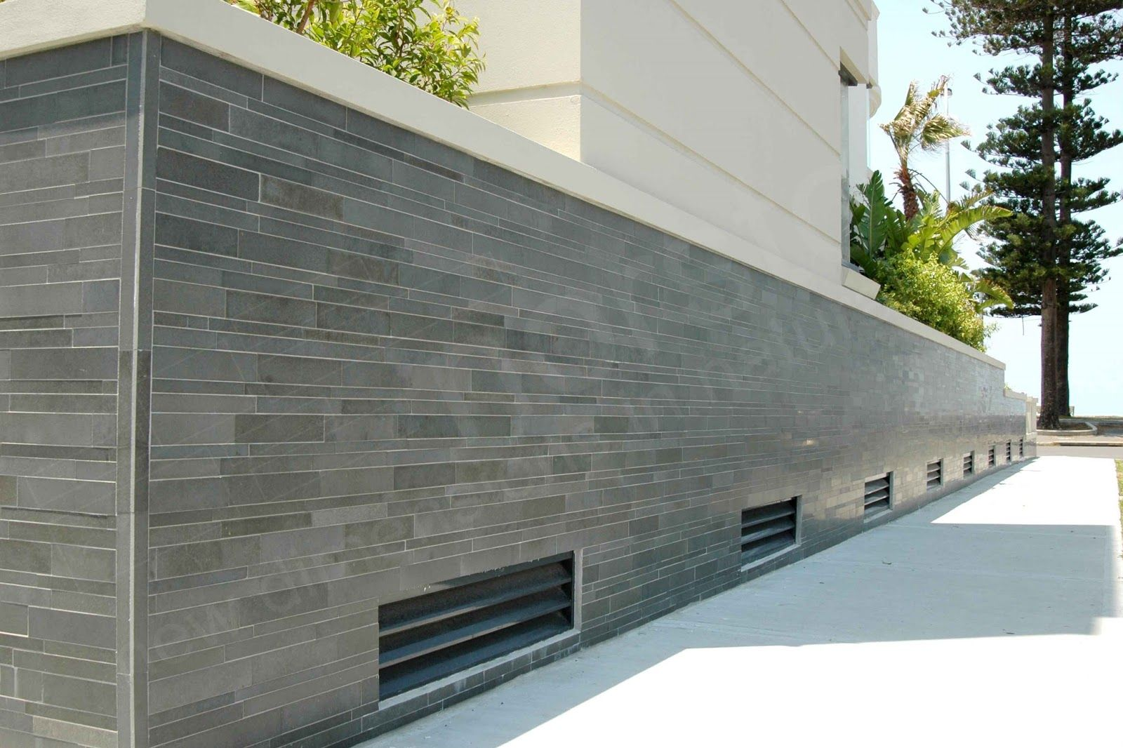Image Result For Cladding Contemporary Retaining Walls Exterior