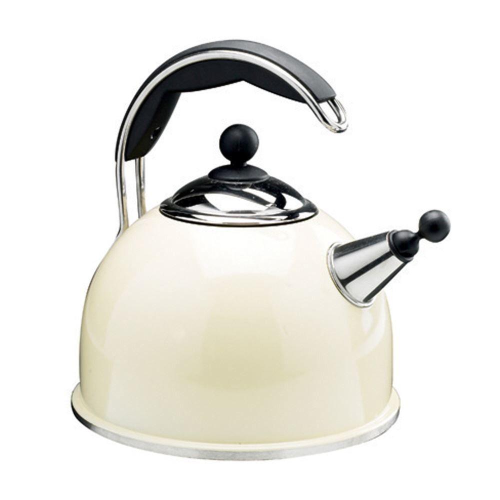 Buy AGA Stainless Steel Whistling Kettle Cream | Aga Cook Shop | AGA ...