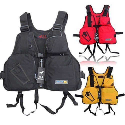 Adult Adjustable Buoyancy Sailing Kayak Canoeing Fly Fishing Life Jacket Vest