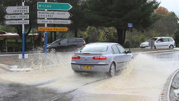 Vigilance orange pluies soutenues et cours d'eau surveillés de près dans l'Hérault - France Bleu