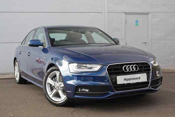 Scuba Blue Metallic Audi A4 Saloon Used Audi Audi
