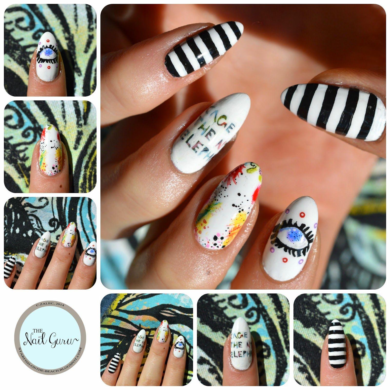 Cage The Elephant nails. | bonita | Pinterest