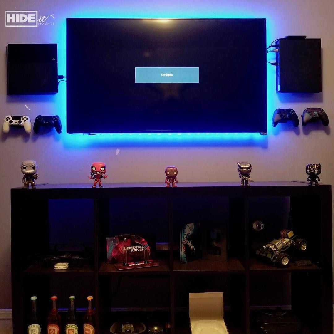 This Is A Man Cave That Any Gamer Would Be Jealous Of