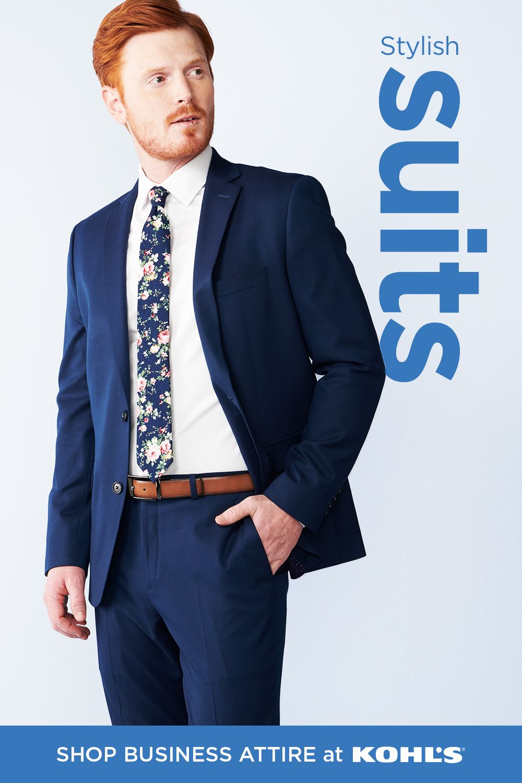 Find business attire for men at Kohl's