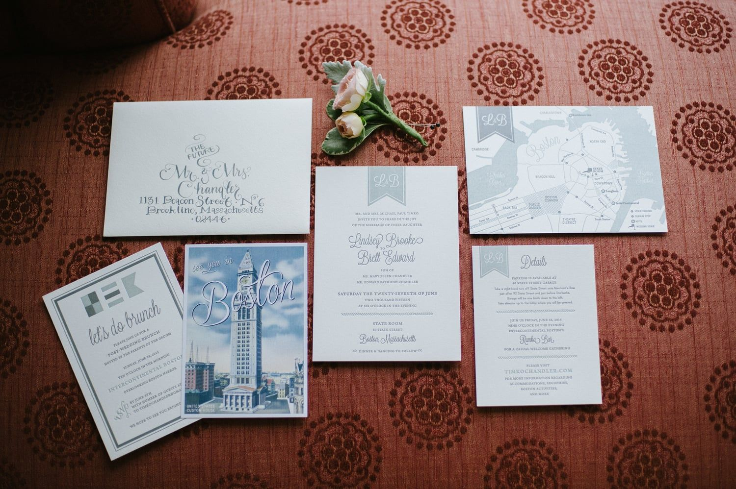 Lindsey & Brett\'s Boston Wedding Suite State Room Photograph by ...