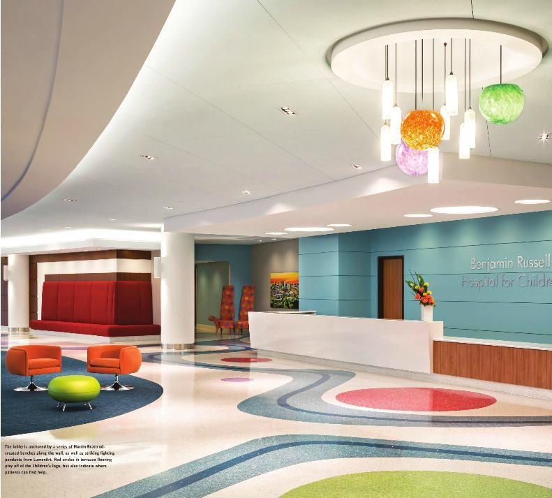 Lobby, Benjamin Russell Hospital for Children - Birmingham ...