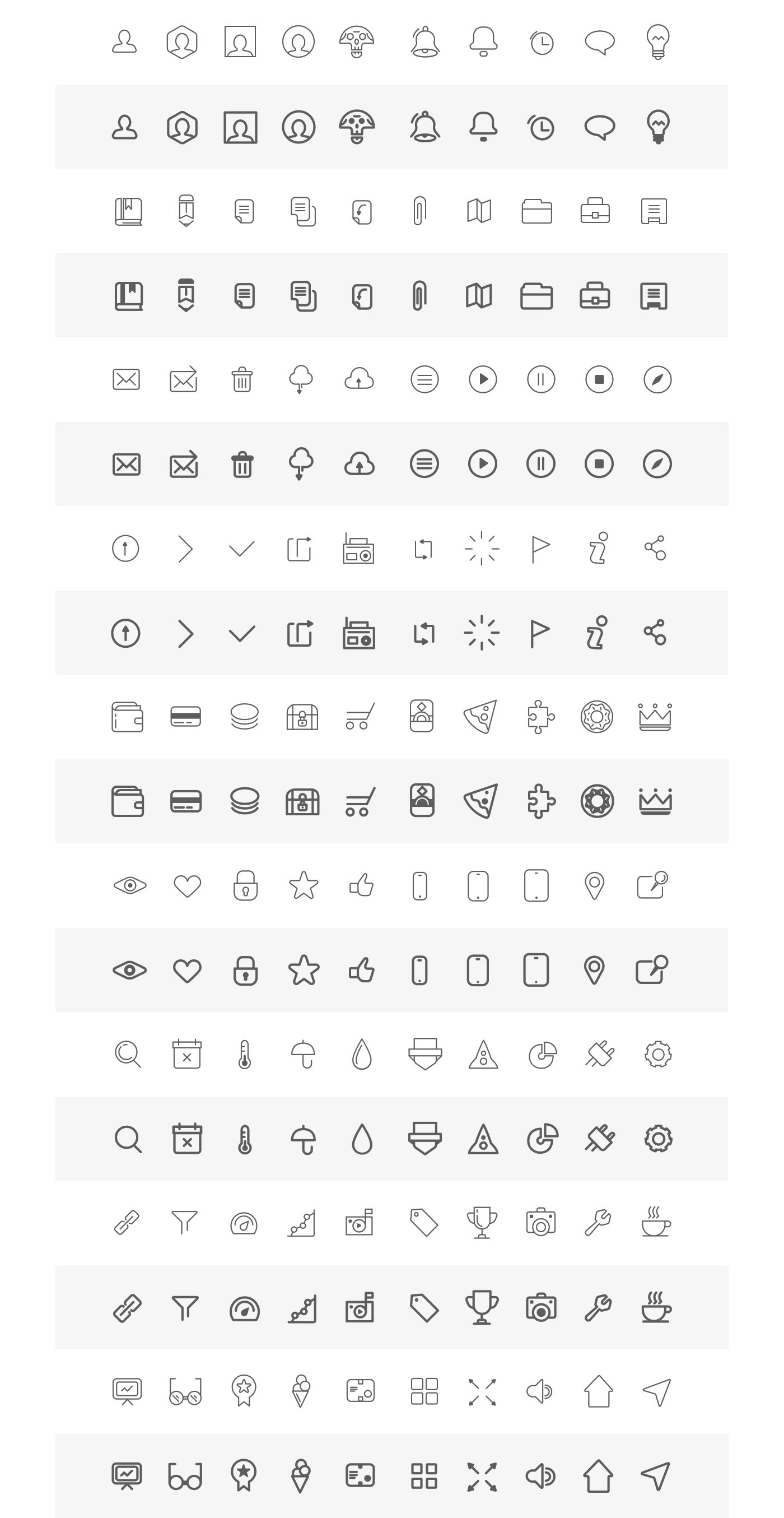 Free Wireframe Icons on Behance | UI&Icon | Pinterest | Wireframe ...
