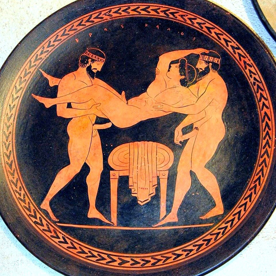 Ancient greece gay sex porn james takes his 2