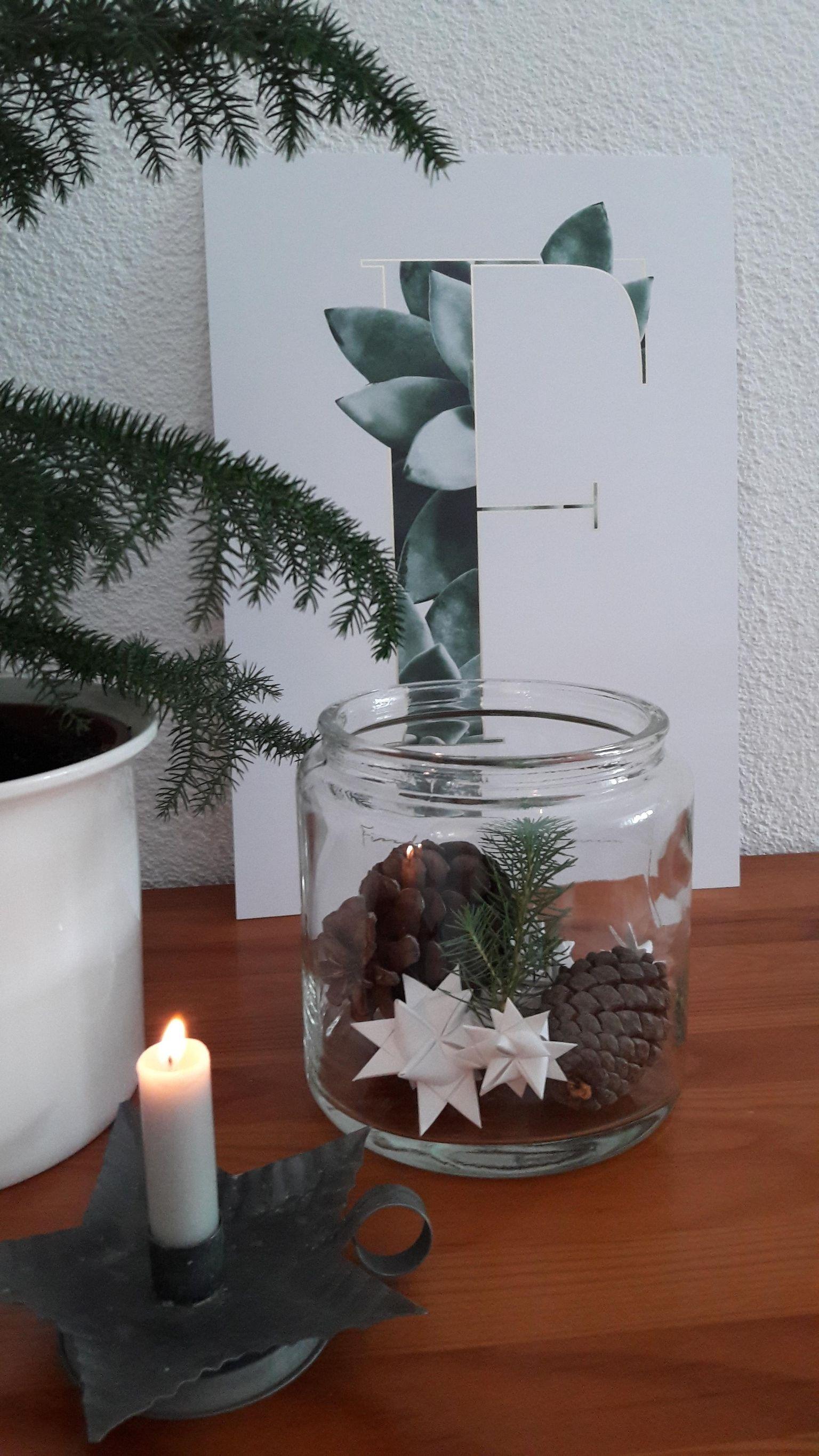 Einen gemütlichen 1. Advent aus dem Weihnachtsland E... #adventskranzskandinavisch