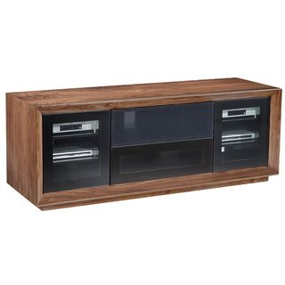 walnut veneer contemporary 70 inch tv stand shopping the best deals on. Black Bedroom Furniture Sets. Home Design Ideas